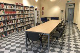 Immagine Riapre la sala studio della biblioteca di Tortona. Obbligatorio prenotare