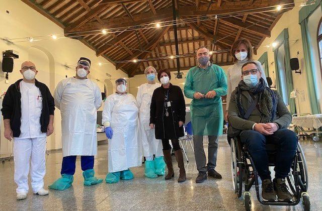 V-Day over80: in Piemonte vaccinati 3.296 ultraottantenni