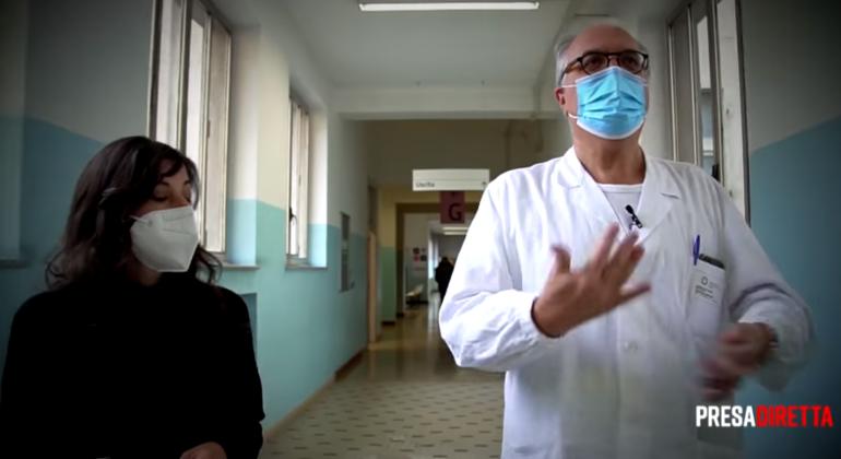 L'ospedale di Alessandria e l'emergenza covid: il dottor Chichino stasera a Presa Diretta