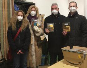 Dalla San Vincenzo e altre associazioni mascherine per aiutare i valenzani a contrastare il Covid