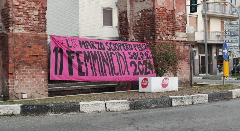 Non una di meno lancia il countdown per lo sciopero transfemminista dell'8 marzo