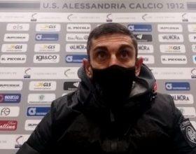 """Alessandria, Longo: """"Per la qualità di gioco espressa è incredibile non aver vinto"""""""