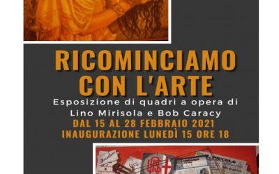 Evento Al Museo della Gambarina la mostra dei quadri di Lino Mirisola e Bob Caracy