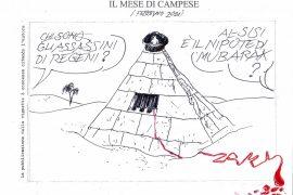 Le vignette di febbraio firmate dall'artista Ezio Campese