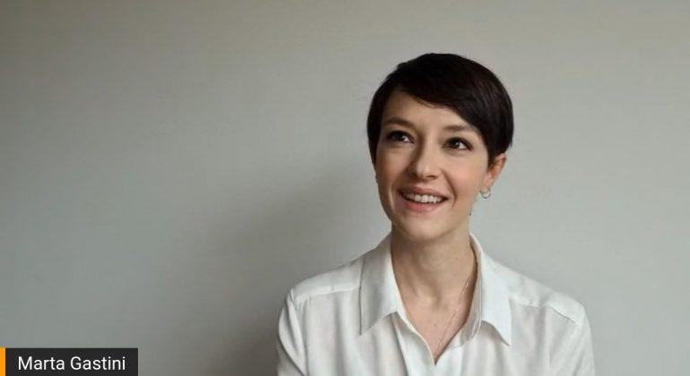 Il talento delle donne: l'attrice Marta Gastini