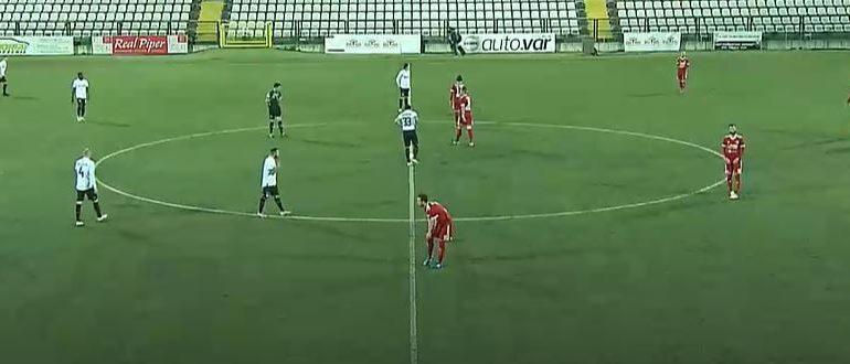 Calcio, Serie C: Pro Vercelli – Alessandria 0-1 (FINALE)