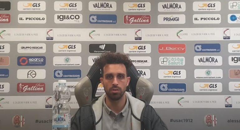 """Arrighini: """"Potevamo anche fare tre gol. Albinoleffe squadra rognosa che concede poco"""""""