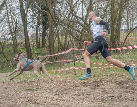 L'uomo e il cane più veloci d'Italia: la passione del bassignanese Davide Alessio e del suo Loki
