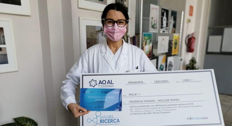 Ospedale di Alessandria: un altro importante premio per la dottoressa Federica Grosso