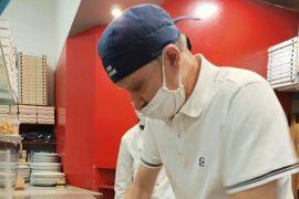 Alessandria dice addio allo storico pizzaiolo Luigi della Lampara