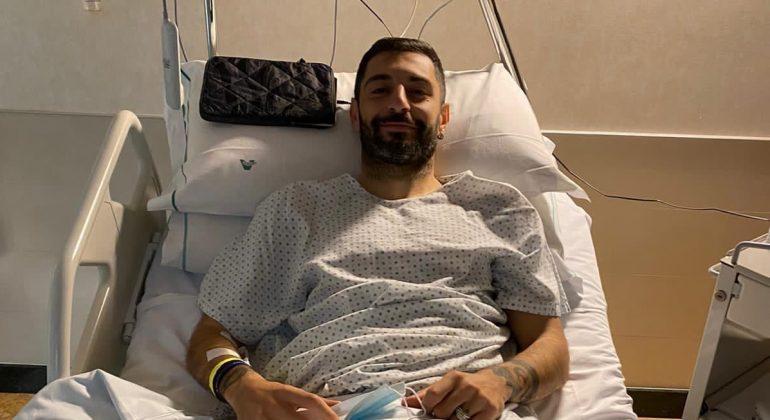 """Alessandria Calcio: Simone Sini operato al ginocchio. """"Intervento perfettamente riuscito"""""""