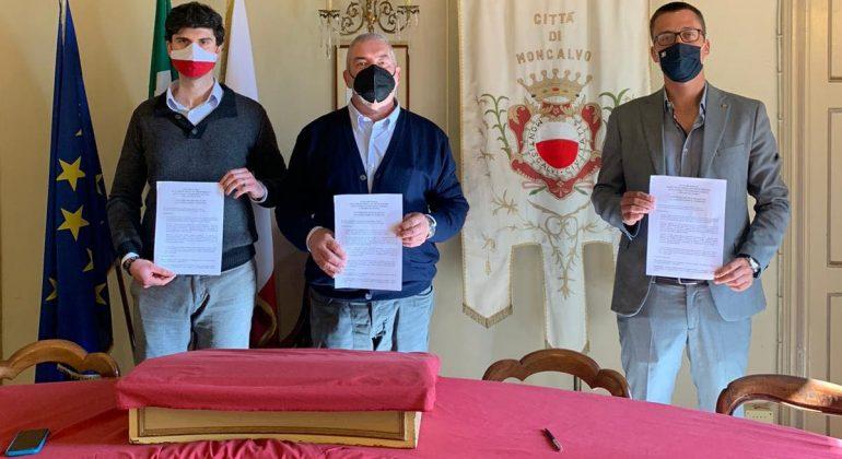 Siglato tra Moncalvo e Valenza un accordo per la promozione dell'oreficeria e dei tartufi
