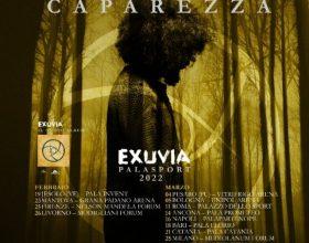 Da febbraio 2022 Caparezza torna live nei Palasport con Exuvia Tour