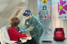 Il centro vaccinale di Castellazzo Bormida è attivo con oltre 60 operatori impegnati