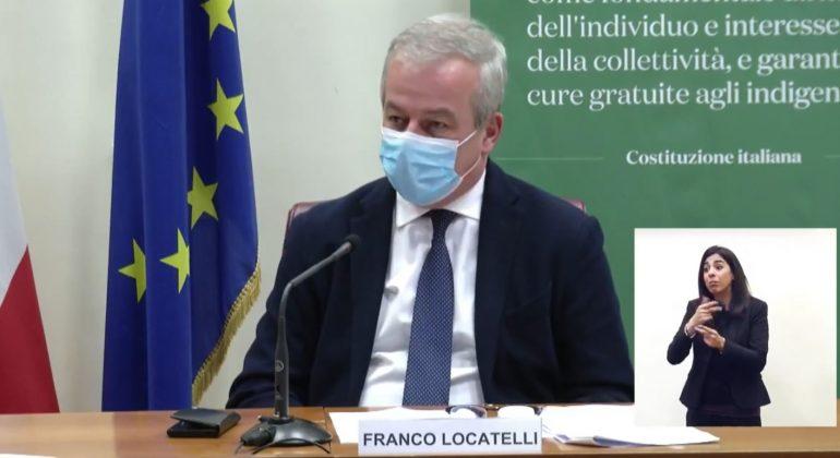 """AstraZeneca raccomandato agli over 60, Locatelli: """"Ok a seconda dose anche per le altre fasce"""""""