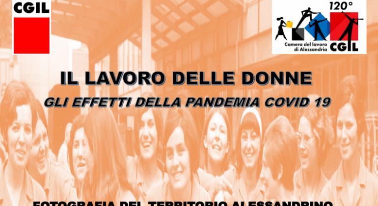 La Cgil di Alessandria parla degli effetti della pandemia sul lavoro delle donne