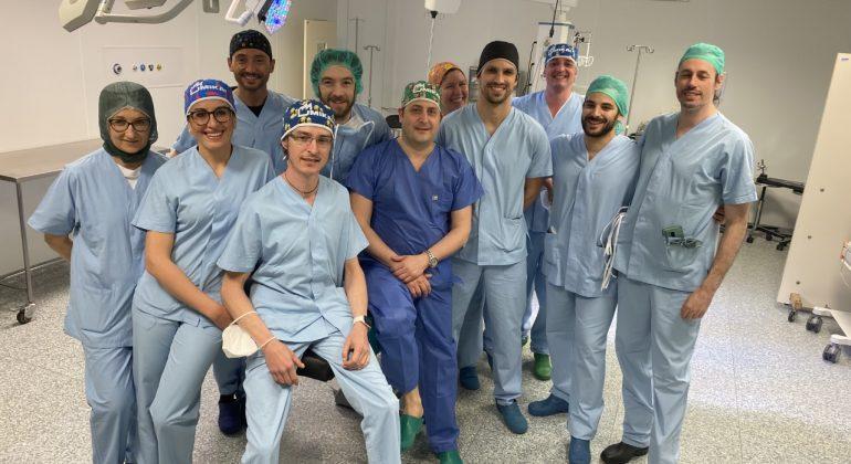Ospedale Casale, intervento all'avanguardia: trapianto di parte di un ginocchio da un cadavere