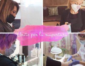 """Sette parrucchiere ed estetiste del Cristo """"unite per la riapertura"""": via alla campagna social"""