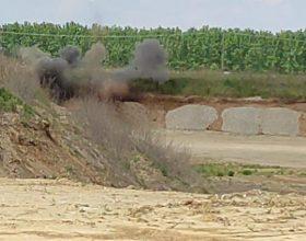 Esploso in sicurezza l'ordigno bellico trovato il primo maggio a Frassineto [VIDEO]