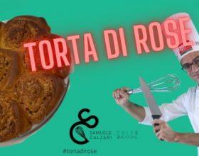 La ricetta dello chef Samuele Calzari per preparare la Torta di Rose