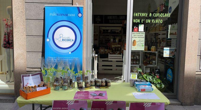 Festa della mamma: ad Alessandria un banchetto con la crema spalmabile da acquistare per beneficenza