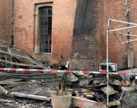 Distrutto dalle fiamme il bar all'interno della Cittadella di Alessandria