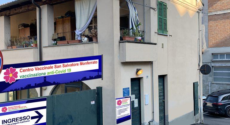 Il 15 maggio apre il centro vaccinale di San Salvatore Monferrato
