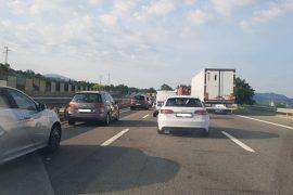 Rallentamenti sulla A26 tra Predosa e Ovada verso Genova
