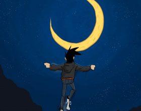 Il fumetto di Dinaz: il mondo ci fa sentire uno schifo e per questo a volte bisogna astrarsi
