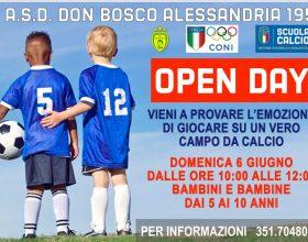 Il 6 giugno Open Day dell'Asd Don Bosco per piccoli calciatori e calciatrici