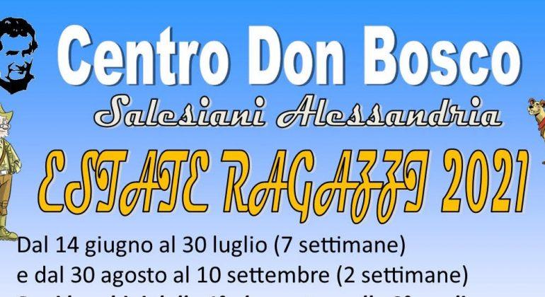 Dal 17 maggio le iscrizioni all'Estate Ragazzi del Centro Don Bosco di Alessandria