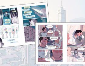 Girotondo con la tematica dell'amore ai tempi di WhatsApp è la graphic novel della settimana