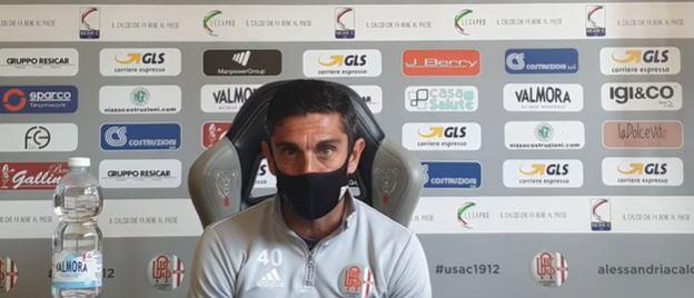 """Alessandria, Longo prepara i playoff: """"Curare i dettagli, in allenamento e nelle amichevoli"""""""