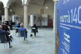 A Palatium Vetus di Alessandria la mostra Carrà 140 è aperta tutti i weekend fino al 3 ottobre
