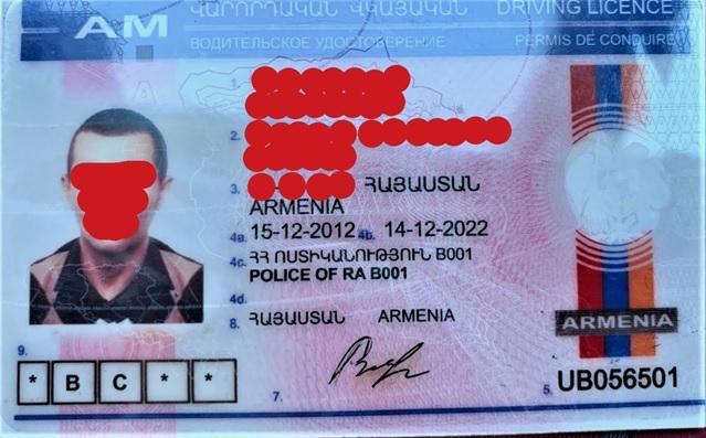 Bocciato all'esame di guida, usa una patente armena falsa: denunciato. Un anno fa ci aveva già provato