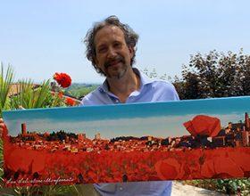 A San Salvatore Monferrato Paesaggi da sogno: la mostra di Tagliabue