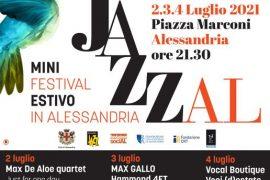 Dal 2 luglio torna la rassegna JazzAl in Piazza Marconi ad Alessandria