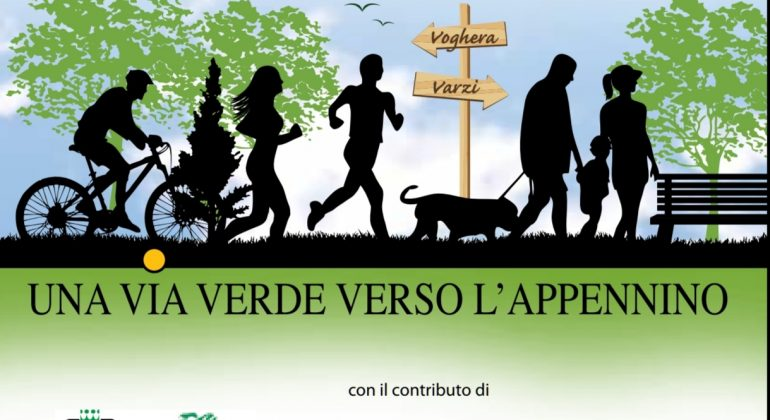 A Bagnaria l'inaugurazione della Greenway Voghera – Varzi