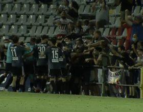Delirio grigio: Stanco porta l'Alessandria in finale. Albinoleffe piegata all'overtime