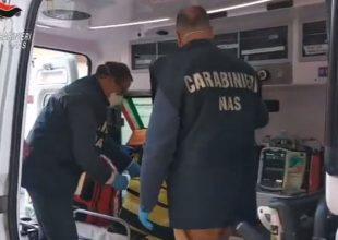 Controlli dei Nas su ambulanze di tutta Italia: denunciato anche il presidente di un'associazione alessandrina