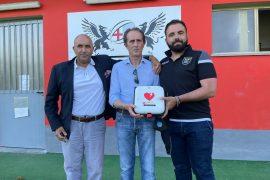 Castellazzo Soccorso dona un defibrillatore all'Alessandria Rugby