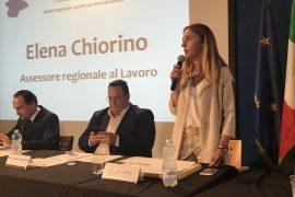 L'assessore regionale Elena Chiorino a Tortona