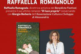 """A Tagliolo la presentazione di """"Di luce propria"""" con la scrittrice Raffaella Romagnolo"""