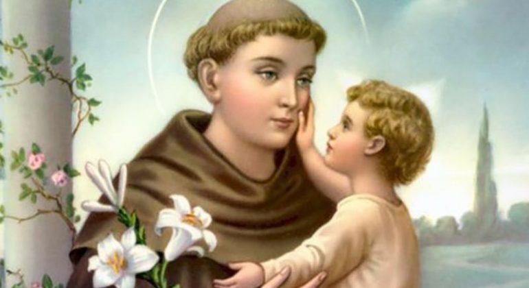Il santo del giorno del 13 giugno è San Antonio di Padova