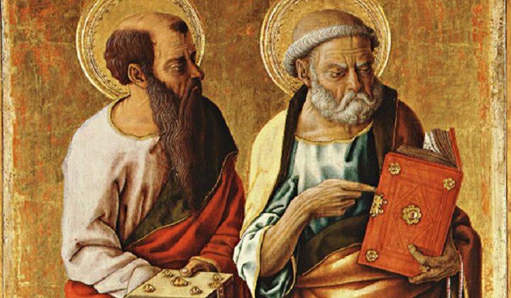 I santi del giorno del 29 giugno sono gli apostoli Pietro e Paolo