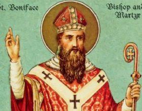 Il santo del giorno di sabato 5 giugno è San Bonifacio