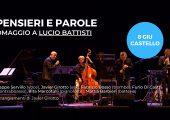 Al Castello Visconteo di Pavia Peppe Servillo omaggia Lucio Battisti