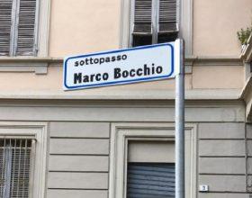 Dedicato a Marco Bocchio il sottopasso tra piazza Mentana e via Maggioli