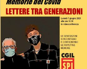 Spi-Cgil lunedì organizza una videoconferenza tra studenti e pensionati per raccontare il Covid-19