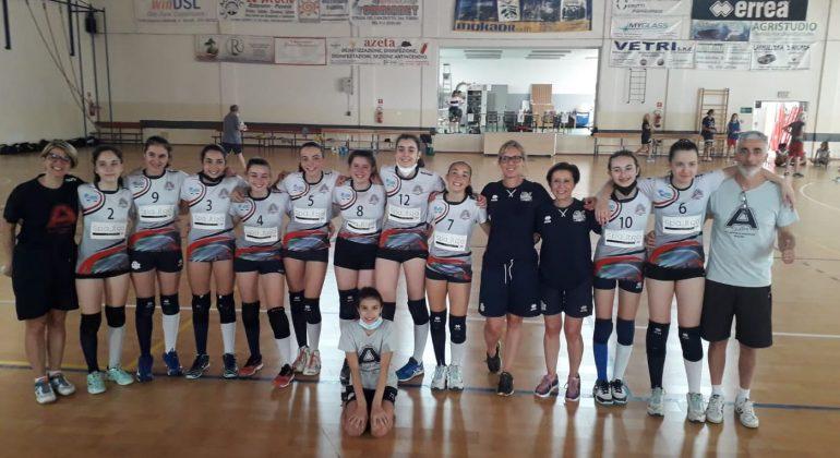 Vittoria per l'Under 13 dell'Alessandria Volley che accede alla finale scudetto territoriale
